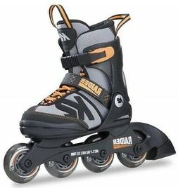K2 Skate Raider, Black Orange, 11-2, New