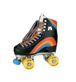 Moxi Rainbow Rider Roller Skates Asphalt Black Size 9