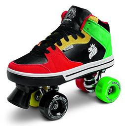 Sure-Grip Rasta Mid Top Shoe Roller Skates