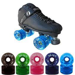 Rave Outdoor Quad Skate Package - Jackson Skates with Atom P