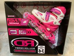 RD Roller Derby Harmony Skates Youth Girls Adjustable Sizes