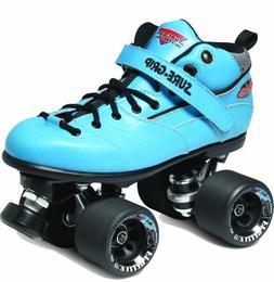 Sure-Grip Rebel Roller Skate Package - blue sz Mens 5/Ladies