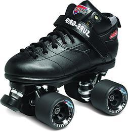 Sure-Grip Rebel Roller Skate Package - black sz Mens 6/Ladie
