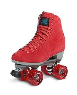 Sure-Grip Red Boardwalk Skates Indoor