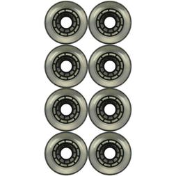 Replacement Inline Wheel 80mm 80a Clear Multi-Surface Roller