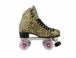Riedell Quad Roller Skates - Jungle Leopard