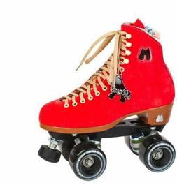 riedell quad roller skates lolly poppy