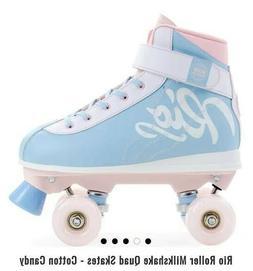 Rio Milkshake Roller Skates in Cotton Candy Color Size 7 U