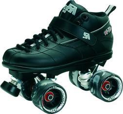 Sure-Grip Rock GT-50 Roller Skate Package - Black sz Mens 15