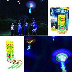 mrGood Rocket Copter Mini Launcher Led Light Fluorescent Bam
