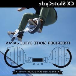 Rocking 2 wheels SkateCycle Sports Equipment <font><b>Skate<