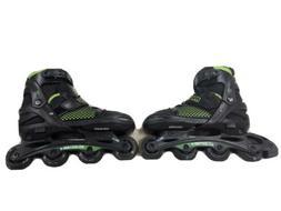 Mongoose Roller Blades size#5-8 Skates Kids Green Black Mode