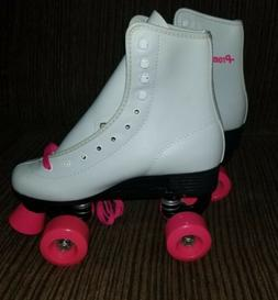 Roller Derby Durable Skate Women Size White and pink new. Gr