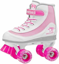 Roller Derby FireStar Youth White/Pink Indoor/Outdoor Roller