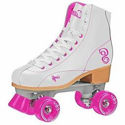 Roller Derby  Rewind Unisex Roller Skates  - White/Purple
