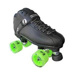 Roller Derby Skates Jackson Rave Black Roller Skate Atom Poi