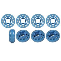 ROLLER HOCKEY GOALIE WHEELS 60mm 78a Set of 8 for INDOOR Inl