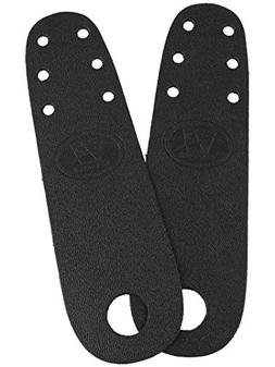 Riedell Roller Skate Toe Guards 1 Pair - Black