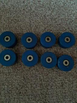 Roller skate wheels indoor 8 ct. See pics