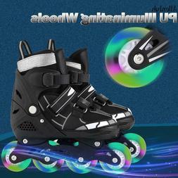 Roller skates Flash wheel Unisex Roller Children Tracer Adju