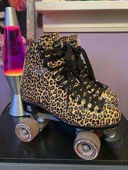 Moxi Roller Skates Leopard Size 7