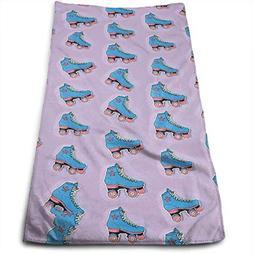 roller skates linen hand towels