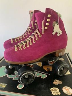 Moxi Roller Skates Lolly Complete Outdoor Fuchsia w/Black Wh