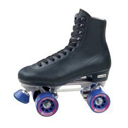 Roller Skates Mens Indoor Outdoor Sport Rink Style Boots Bla