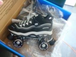 Skechers roller skates quad skate mens black sizes 8, 8.5, 9