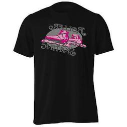 Roller Skating Shoes For Girls Purple Pink Men's T-Shirt/Tan