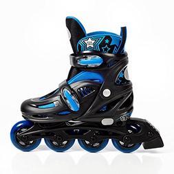 High Bounce Rollerblades Adjustable Inline Skate  ABEC 7)
