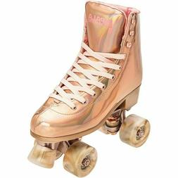 IMPALA ROSE GOLD Quad Roller Skates Marawa Size 9 NEW IN H