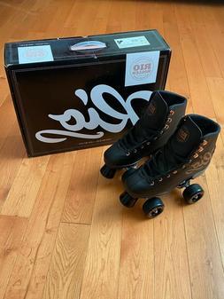 Rio Roller Rose Quad Roller Skates - Black - UK Size 4