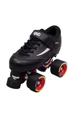 Chaya Ruby Hard Black Quad Derby Roller Skate