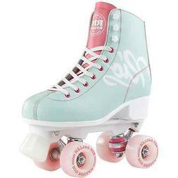 Rio Roller Script Quad roller Skates - Teal/Coral