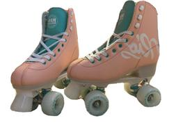Rio Roller Script Skates Color:Peach Recreational Quad Skate