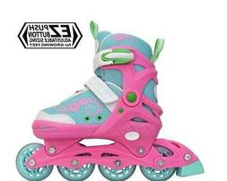 Lenexa Sherbet Adjustable Inline Skates Girls Rollerblades R