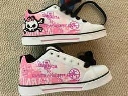 Heelys Shoes Sneakers Skate Sport Outdoor Gear White Pink Bl