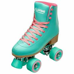 Impala Sidewalk Quad skate/Roller Skates AQUA - Size 9