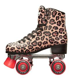 Impala Sidewalk Roller Skates Quad Skates LEOPARD New in Box