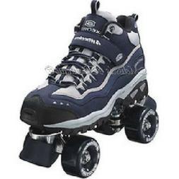 size 11.5 mens SKECHERS 4 WHEELER ROLLER SKATES skate quad d