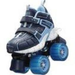 size 2 youth SKECHERS 4 WHEELER ROLLER SKATES skate quad der