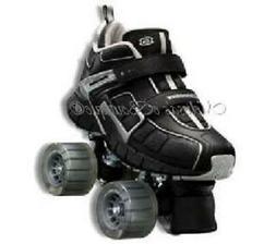 size 8 mens SKECHERS 4 WHEELER ROLLER SKATES skate quad derb