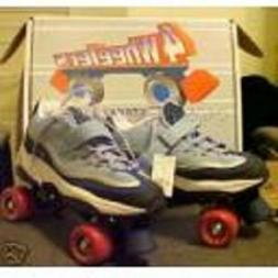 size 7 ladies SKECHERS 4 WHEELER ROLLER SKATES skate quad de