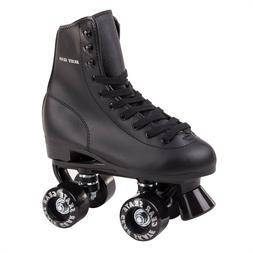 Skate Gear Soft Boot Roller Skate Retro High Top Design Blac