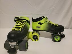 Riedell Skates - Dart Ombré - Quad Roller Speed Skate | Gre