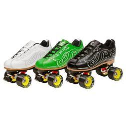 Epic Skates New Black Evolution Quad Roller Jam Speed Skates