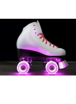 Epic Skates Cheerleader Indoor/Outdoor Quad Roller Skates, W