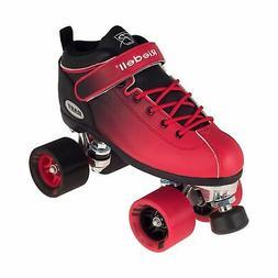 Riedell Skates - Dart Ombré - Quad Roller Speed Skate Black