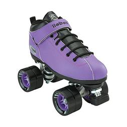 Riedell Skates - Dart - Quad Roller Speed Skates,Purple, Men